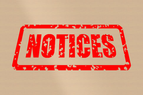 View all Notices